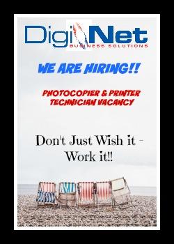 Photocopier & Printer Technician Vacancy
